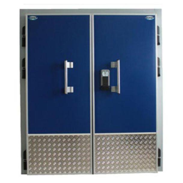 двери распашные двухстворчатые входные на склад